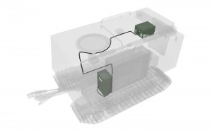 GBCT843433 - RC-S70 - Illustration of theinstallation